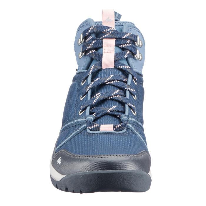 Chaussure de randonnée nature NH300 mid imperméable femme - 1268505