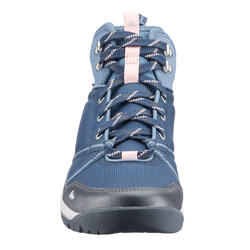 女款中筒防水越野健行鞋MH150