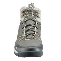 Wanderschuhe Naturwandern NH150 Mid Protect Damen kaki