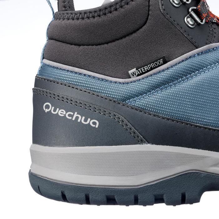 Chaussure de randonnée nature NH300 mid imperméable bleu homme