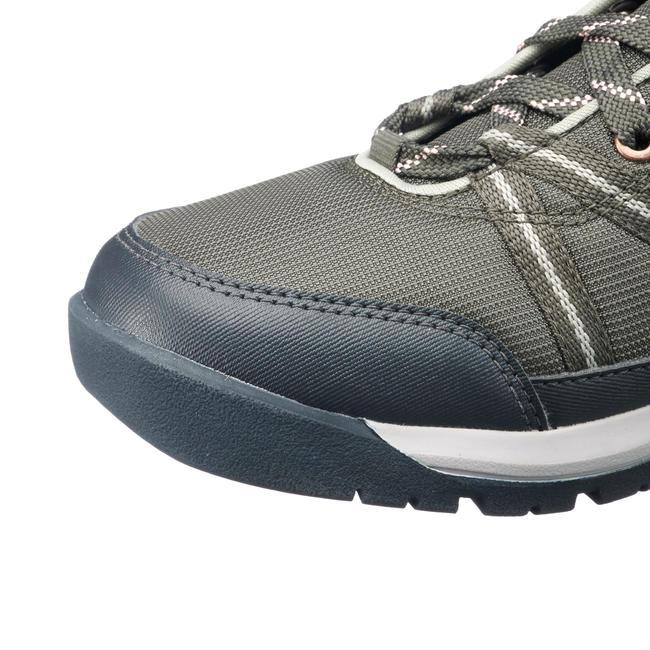 Women's Hiking Shoes (WATERPROOF) NH150 - Khaki