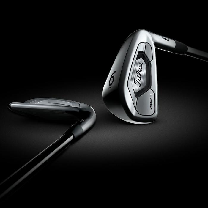 Serie de hierros golf AP3 hombre diestro 5-PW Acero Regular