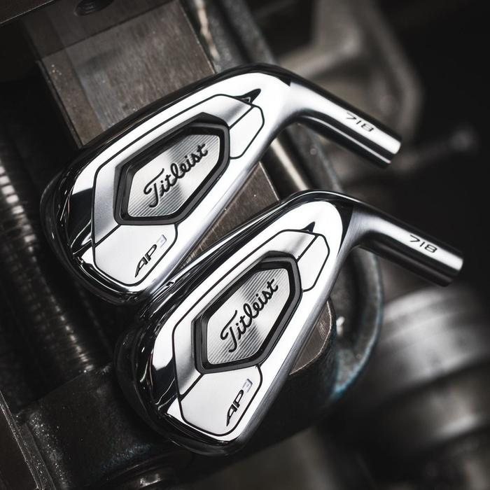 Set golf irons voor heren 5-PW staal regular