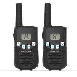 Walkie-Talkies ONCHANNEL 110 batteriebetrieben 5 km Reichweite zwei Geräte