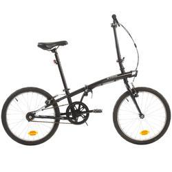 Faltrad Tilt 100 schwarz