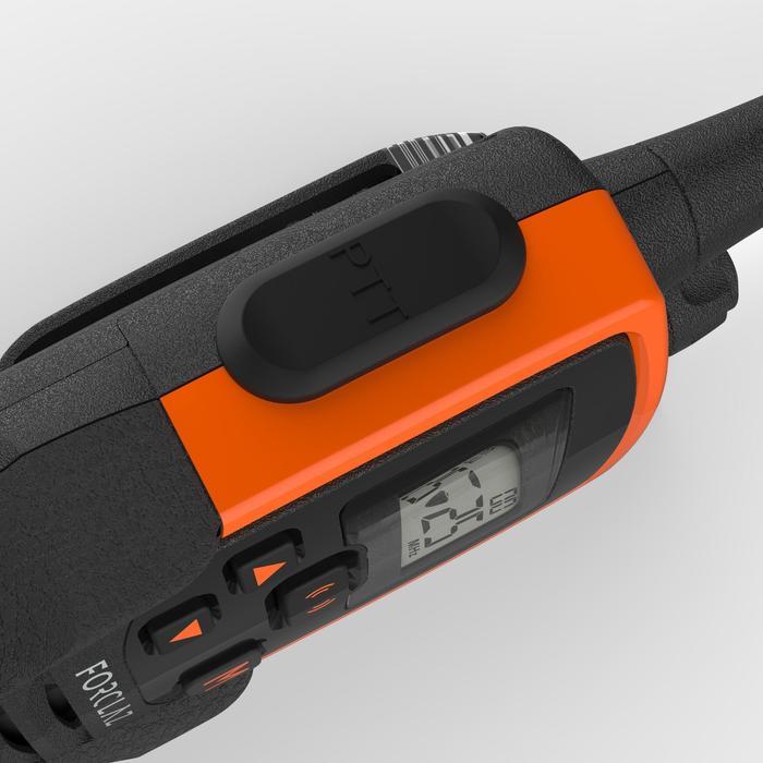 Walkie-talkie ONchannel 710 naranja y negro