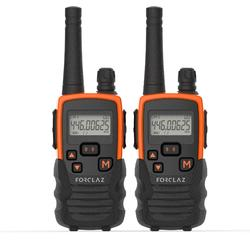 Walkie-talkie ONchannel 710 naranja y negro