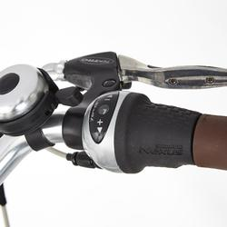 """E-Bike City Bike 28"""" Elops 920E HF hoher Rahmen Brose Drive T grün"""