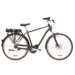 """E-Bike City Bike 28"""" Elops 920 HF hoher Rahmen Brose Drive T grün"""