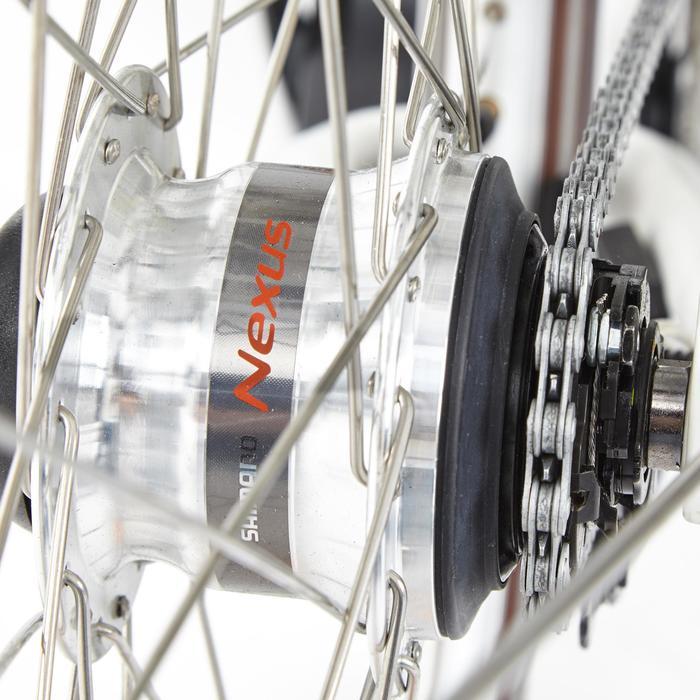 "E-Bike City Bike 28"" Elops 920 LF tiefer Einstieg Brose Drive T weiss"