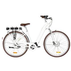 "E-Bike City Bike 28"" Elops 920 LF Damen Brose Drive T weiss"
