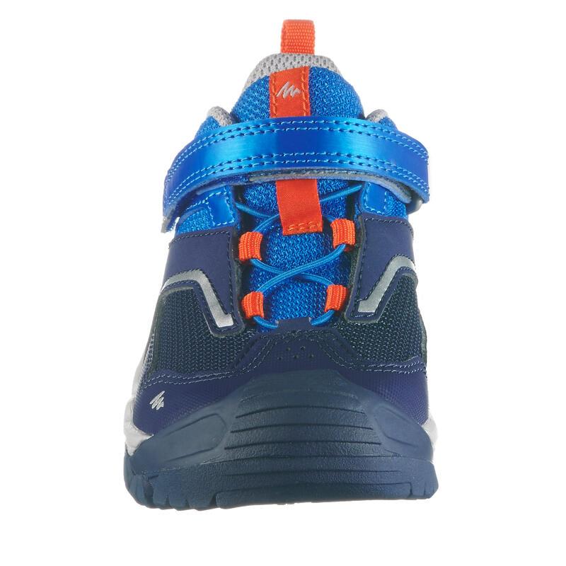 aac3f63cebb57f ... Ботинки для горных походов низкие на липучке для мальчиков CROSSROCK ...