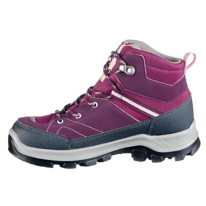 Chaussures de randonnée enfant Forclaz 500 Mid imperméables - 1269048