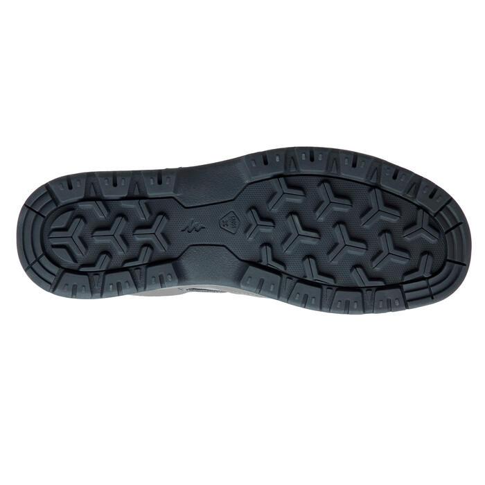 Chaussure de randonnée nature NH300 imperméable vert/gris homme