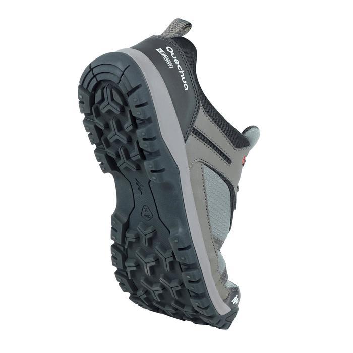 Chaussure de randonnée nature NH300 imperméable noire homme - 1269081