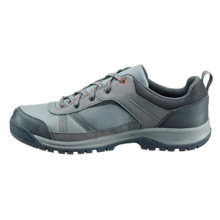 Chaussure de randonnée nature NH300 imperméable noire homme - 1269082