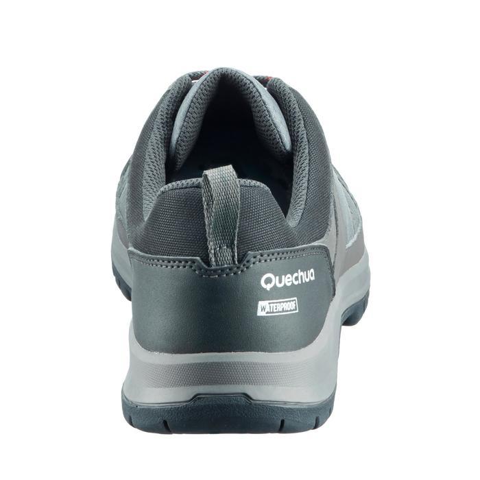 Chaussure de randonnée nature NH300 imperméable noire homme - 1269083