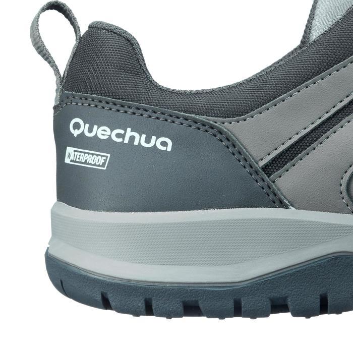 Quechua Chaussure de randonnée nature NH300 imperméable noire homme ... 098f6dbe11a5