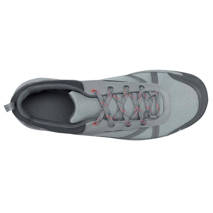 Chaussure de randonnée nature NH300 imperméable noire homme - 1269087