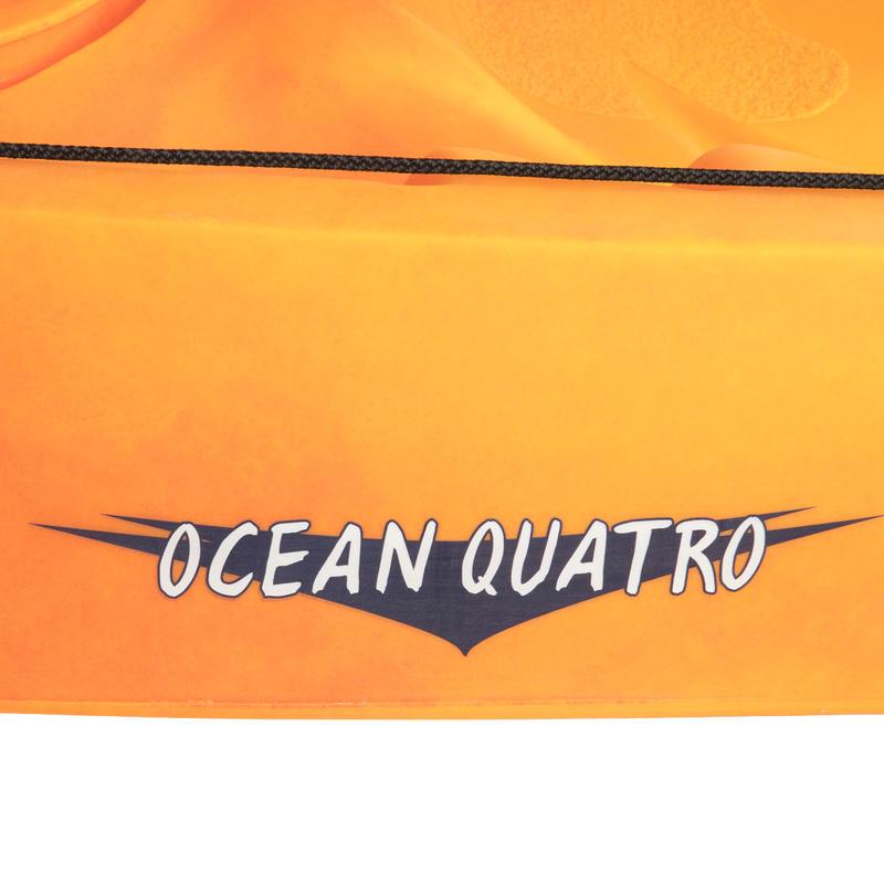CANOE KAYAK RIGIDE OCEAN QUATRO ROTOMOD 4 PLACES (2 ADULTES + 2 ENFANTS)