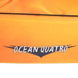 Stijve kajak Ocean Quatro 4 plaatsen (2 volwassenen + 2 kinderen)