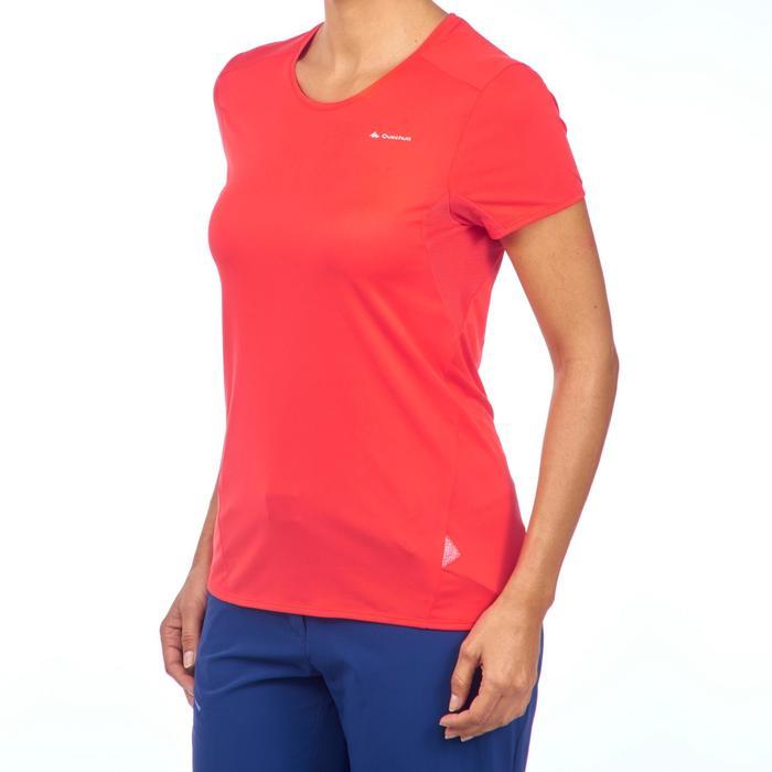 T-Shirt manches courtes de randonnée montagne MH100 femme - 1269134