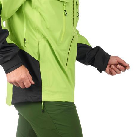 veste pluie randonn e montagne mh900 imperm able homme vert noir quechua. Black Bedroom Furniture Sets. Home Design Ideas