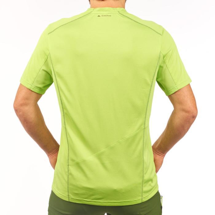 Tee Shirt de randonnée montagne MH500 manches courtes homme vert