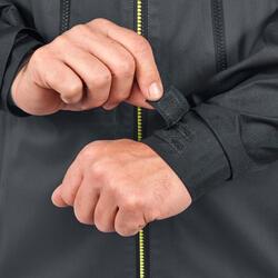 Chaqueta lluvia Senderismo en la montaña MH900 impermeable hombre Negro