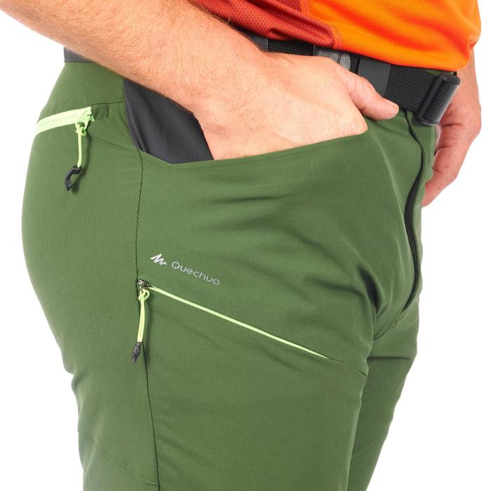 Pantalón Senderismo en la montaña MH500 hombre verde