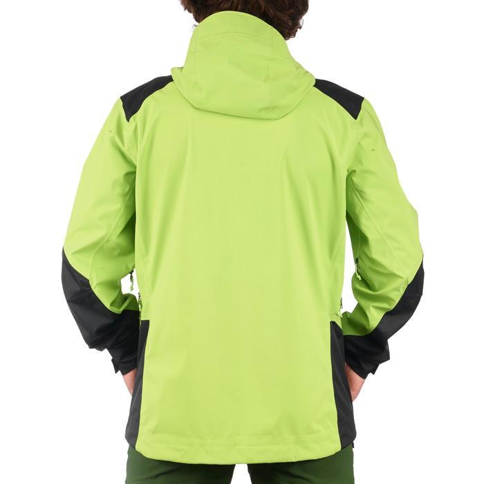 Chaqueta lluvia Senderismo en la montaña MH900 impermeable hombre Verde/Negro