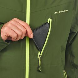 Wanderjacke MH500 wasserdicht Herren grün