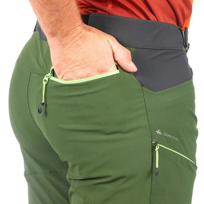 Pantalon Randonnée montagne MH500 homme vert