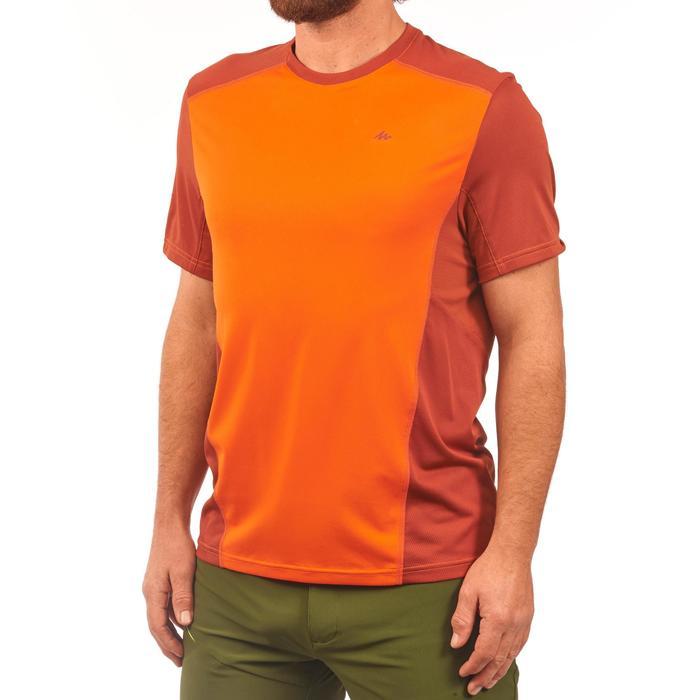 Tee Shirt Randonnée montagne MH500 manches courtes homme - 1269302