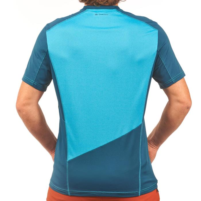 Tee Shirt Randonnée montagne MH500 manches courtes homme - 1269314