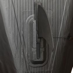 Opblaasbare kajak Yakkair full hoge druk 2 personen