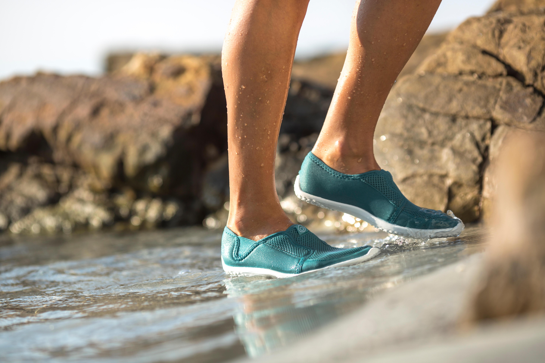 Chaussures aquatiques Aquashoes 120 adulte gris