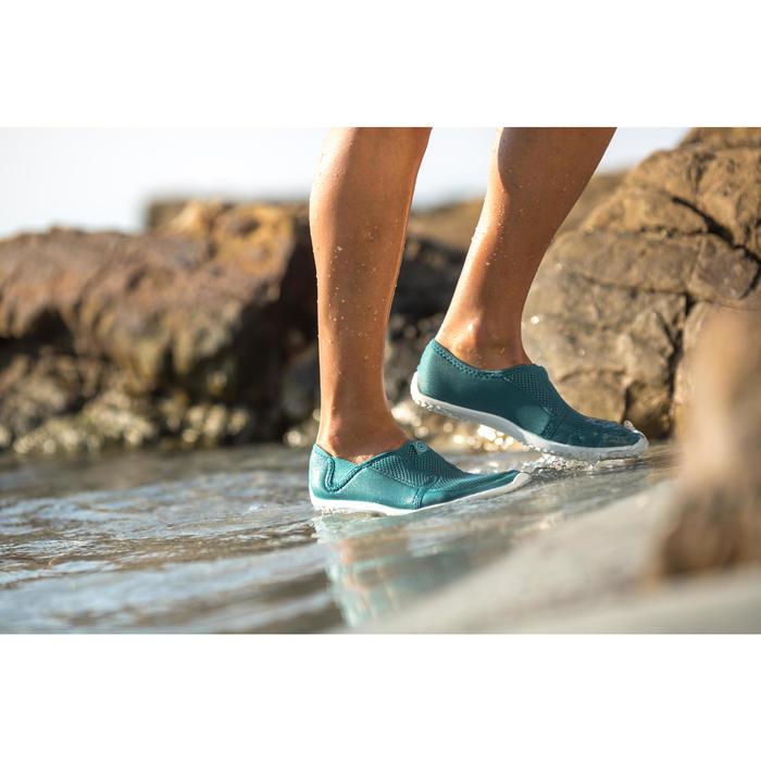 Waterschoenen voor volwassenen Aquashoes 120 grijs