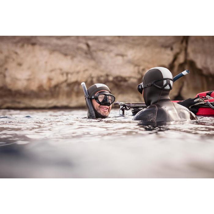 Masque de chasse sous-marine et apnée petit volume SPF 500 noir - 1269496