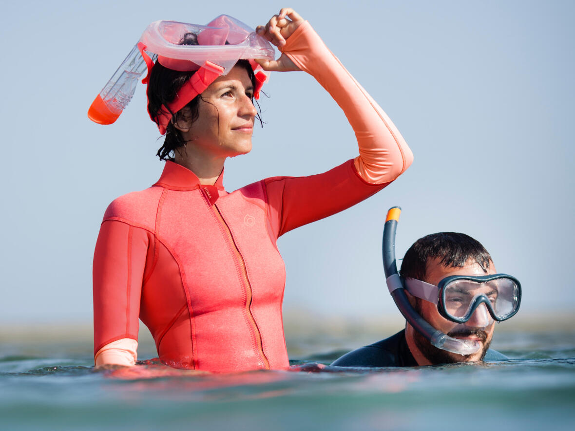 Misez sur une protection thermique pour lutter contre le froid en snorkeling !