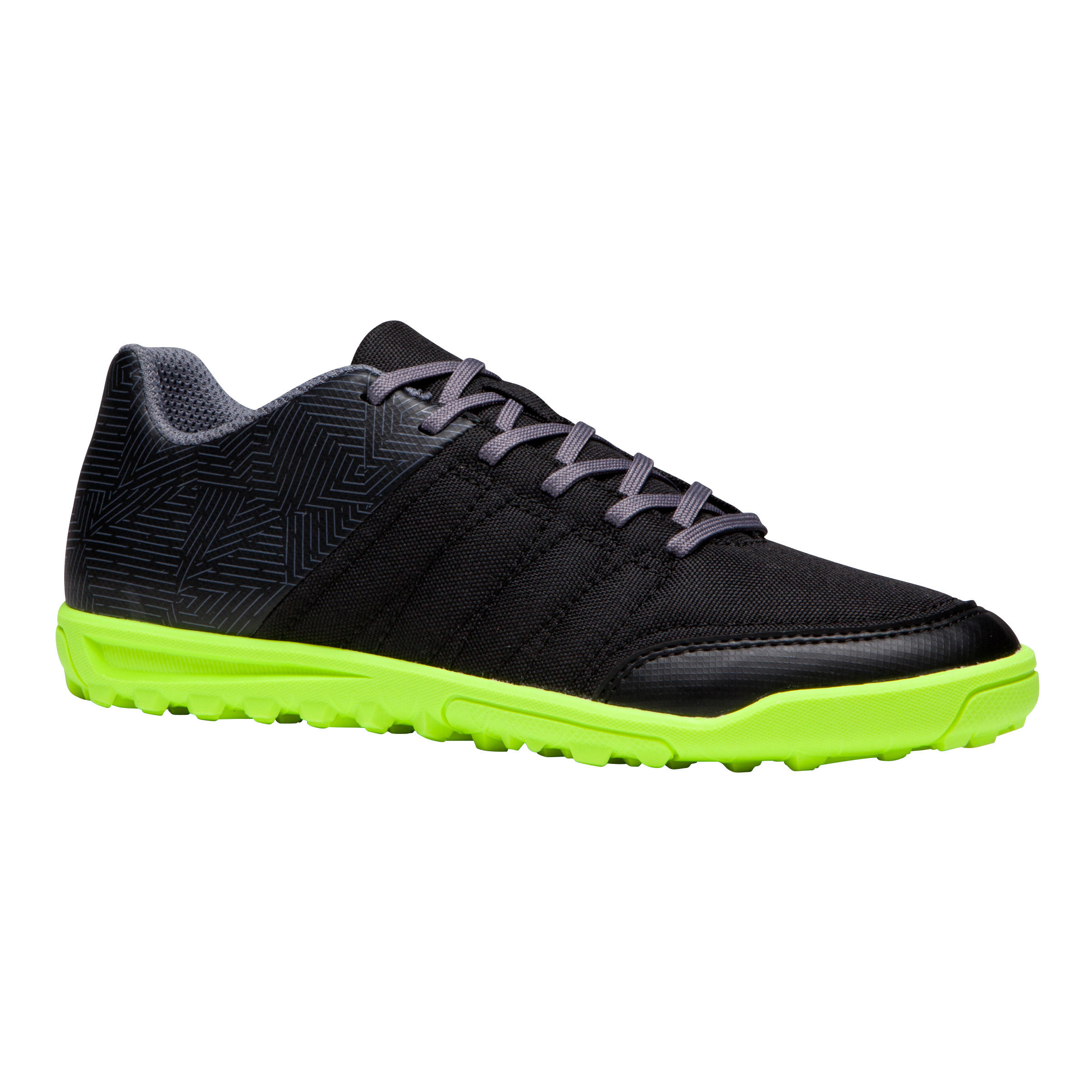 Chaussure de soccer enfant terrains durs CLR 500 HG noire jaune
