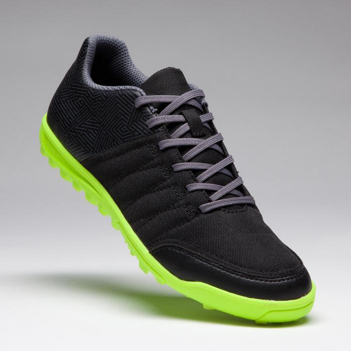 Chaussure de football enfant terrains durs Agility 300 HG noire - 1269523