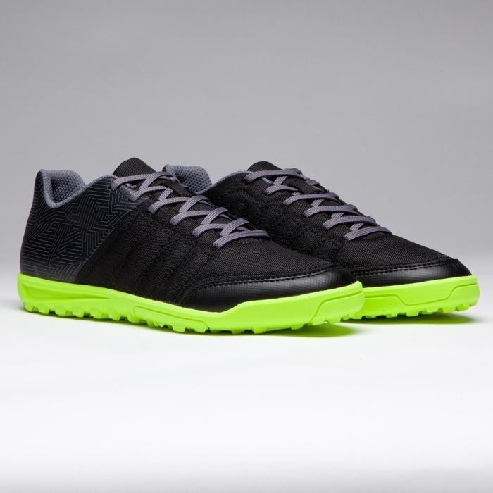 Chaussure de football enfant terrains durs Agility 300 HG noire - 1269524