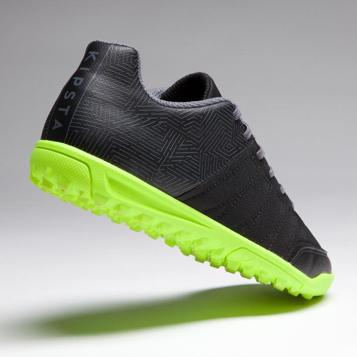 Chaussure de football enfant terrains durs Agility 300 HG noire - 1269526