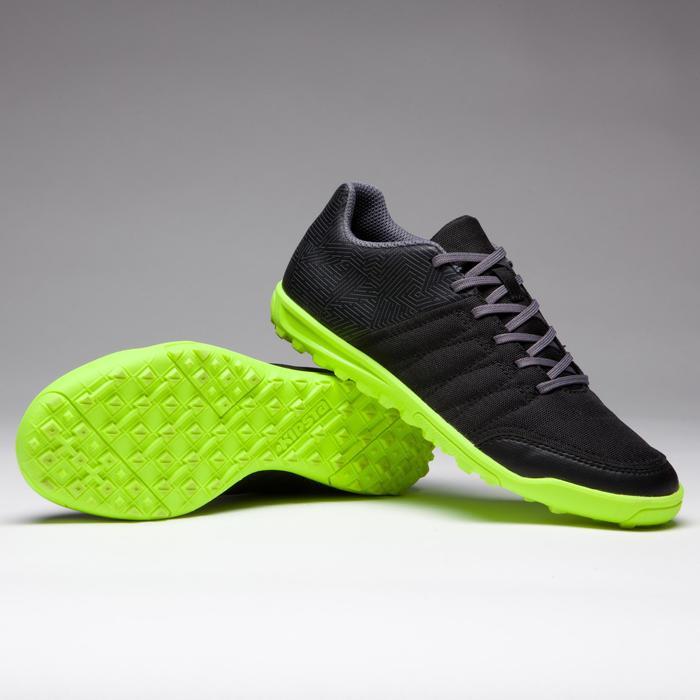 Chaussure de football enfant terrains durs Agility 300 HG noire - 1269527