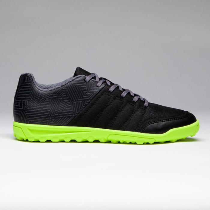 Chaussure de football enfant terrains durs Agility 300 HG noire - 1269529