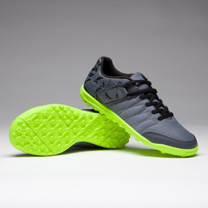 Chaussure de football enfant terrains durs Agility 300 HG noire - 1269530