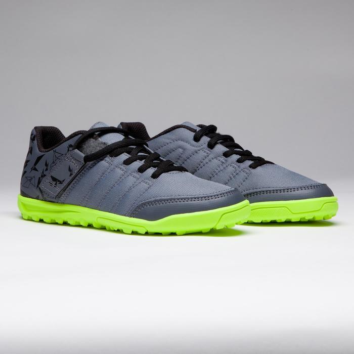 Chaussure de football enfant terrains durs Agility 300 HG noire - 1269531