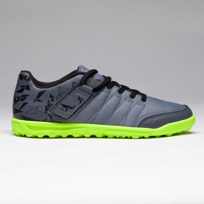 Chaussure de football enfant terrains durs Agility 300 HG noire - 1269538