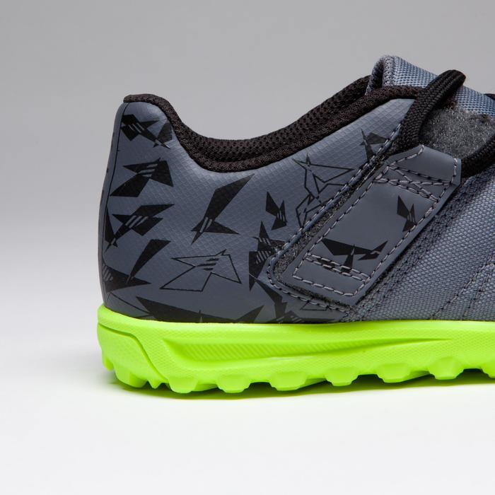 Chaussure de football enfant terrains durs Agility 300 HG noire - 1269540
